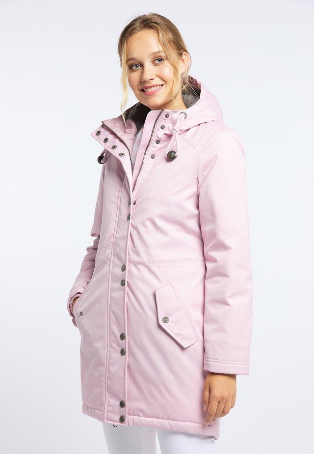 Parka - puder rosa