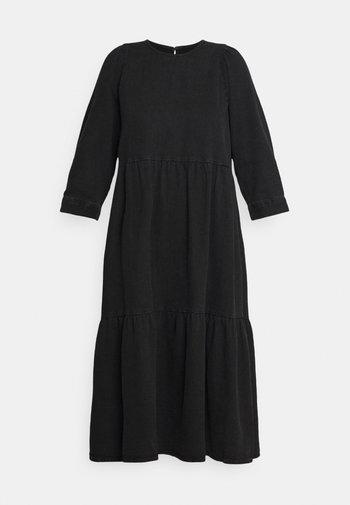 NMJESSIE DRESS - Day dress - black denim