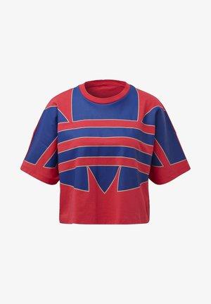 ADICOLOR LARGE LOGO T-SHIRT - T-shirt con stampa - pink