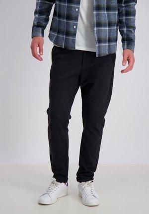 Trousers - dk grey mix