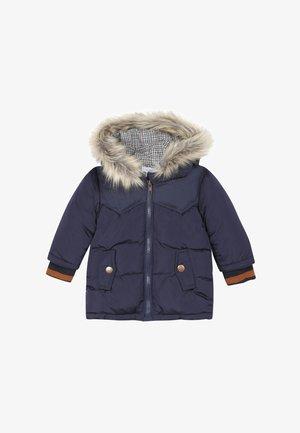 Winter coat - marine blue