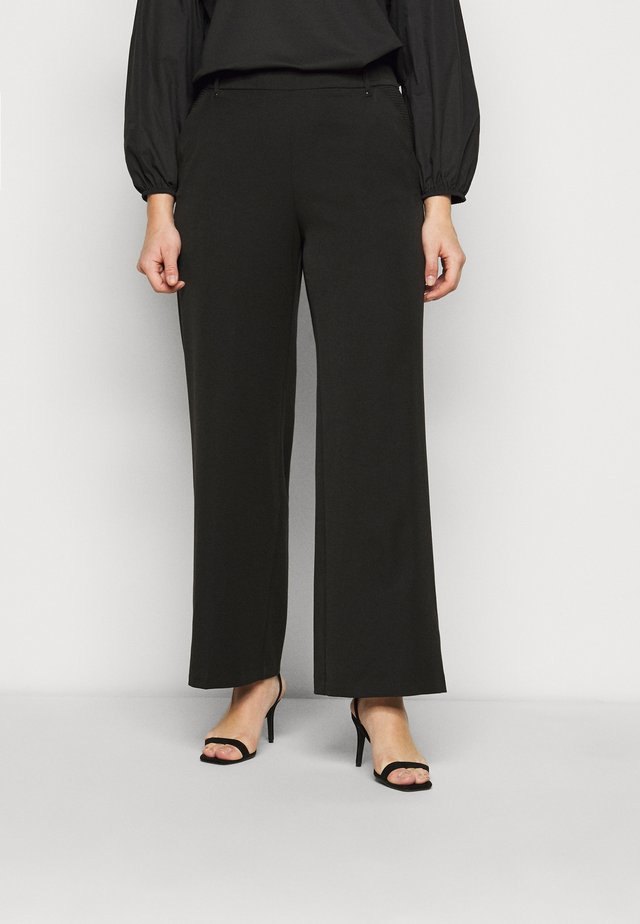 WIDELEG WORKWEAR TROUSER - Bukse - black