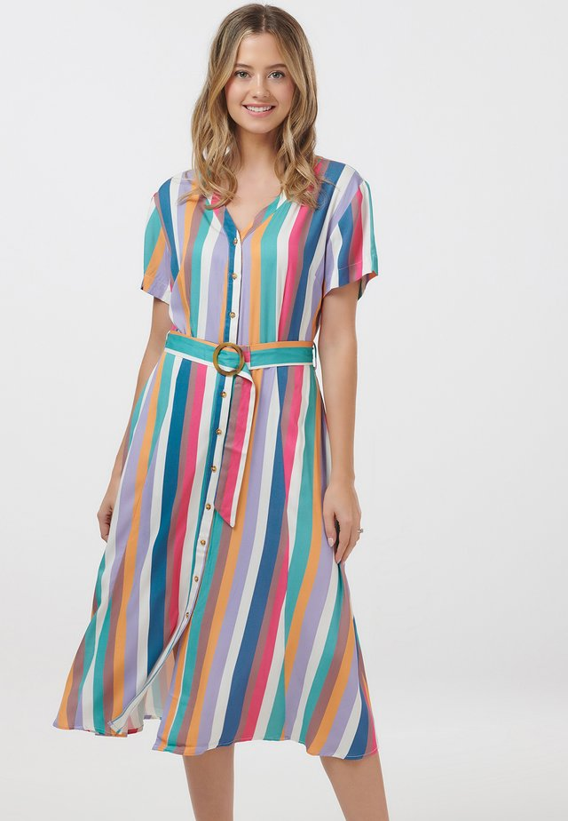 CASSIDY CRUISE STRIPE - Shirt dress - multi-coloured