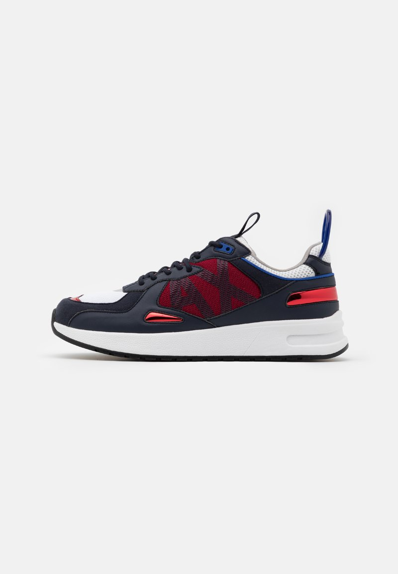 Armani Exchange - Sneakersy niskie - red/white/black