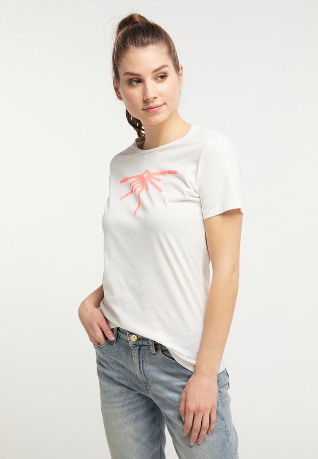 Printtipaita - whisper white