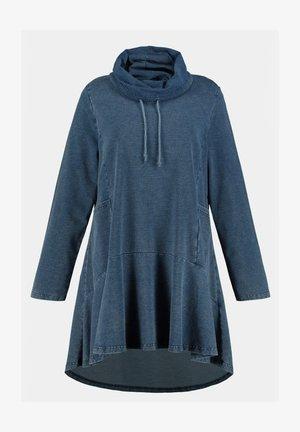 Sweatshirt - blue denim