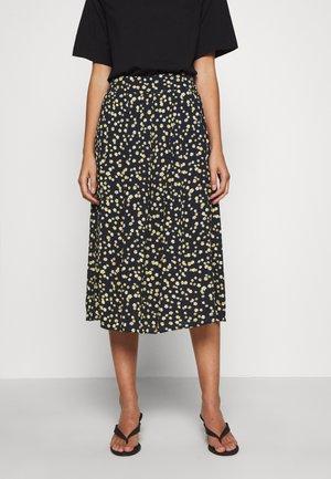 CALINA SKIRT - A-line skirt - blue