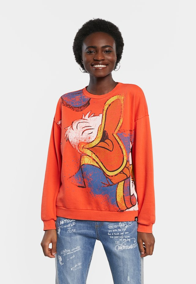 DONALD - Sweatshirt - brown