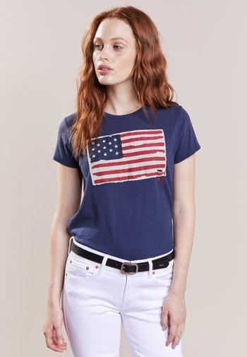FLAG - Print T-shirt - classic royal