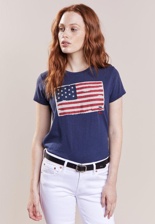 FLAG - T-shirt med print - classic royal