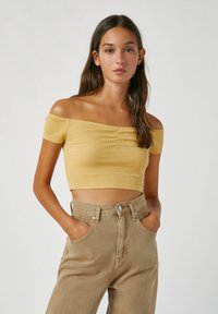 PULL&BEAR - Top - light yellow - 0