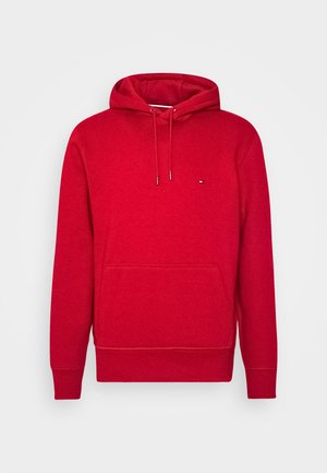 BASIC FLAG HOODY - Bluza z kapturem - red