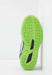 Mizuno - LIGHTNING STAR JR - Volleyball shoes - high rise/black/green gecko - 5