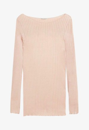 Long sleeved top - pink sand