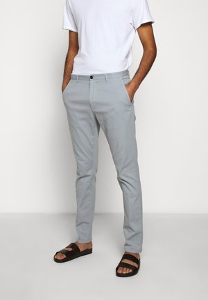 GLEN - Chinosy - medium grey