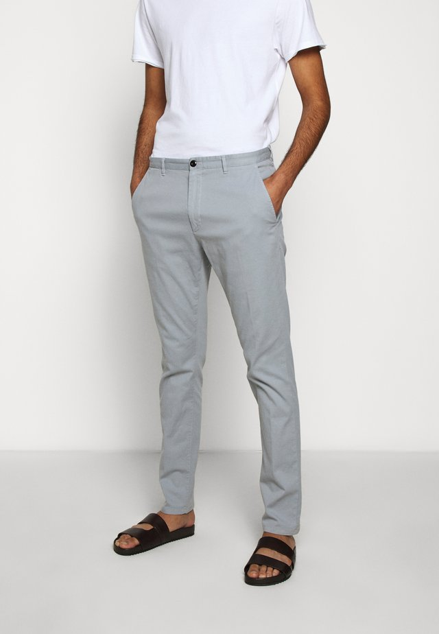 GLEN - Pantalones chinos - medium grey