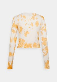 NEW girl ORDER - PRECIOUS TEDDY TIE DYE - Long sleeved top - rust - 1