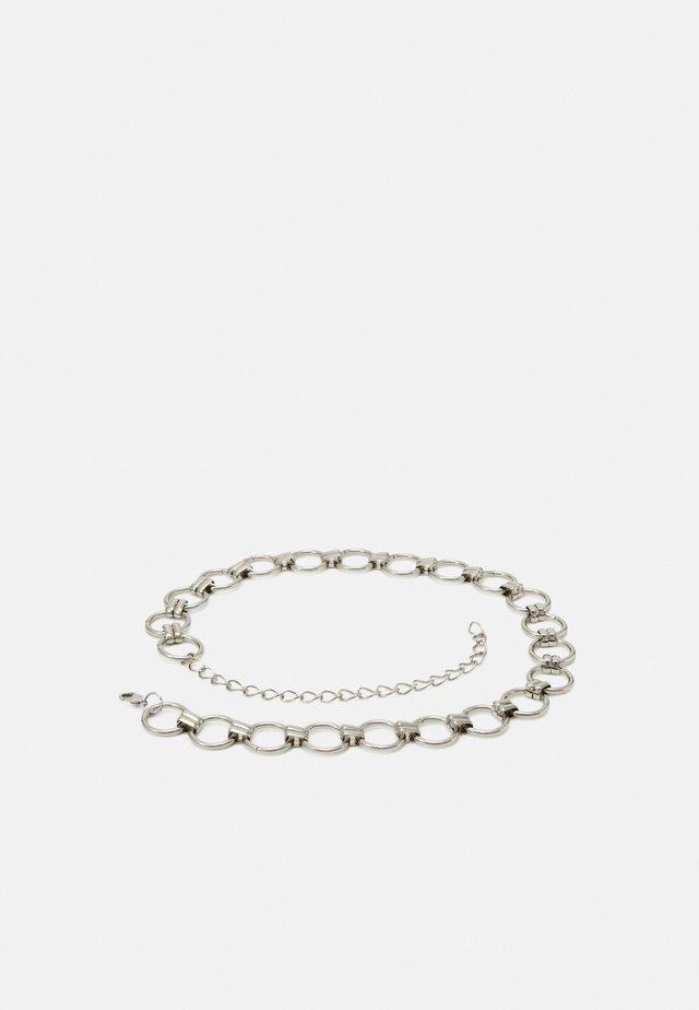 PCNURA WAIST BELT - Taljebælter - silver-coloured