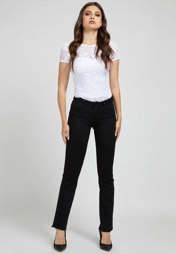 AURORA - T-shirt z nadrukiem - weiß