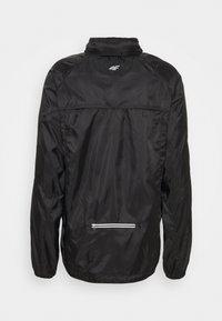 4F - Men's running jacket - Sports jacket - black - 2