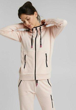 KAPUZEN - Zip-up hoodie - peach