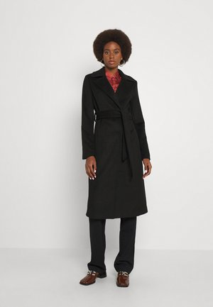 YASDORIA COAT - Klasický kabát - black