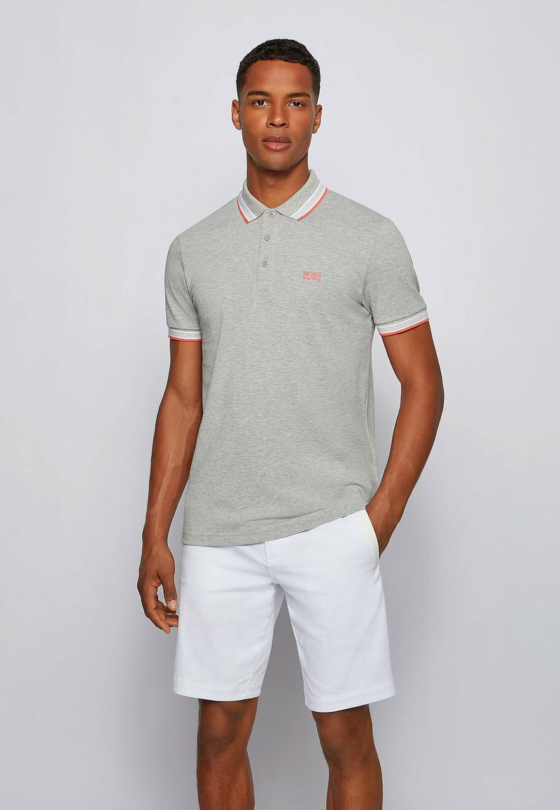 BOSS - PADDY - Poloshirt - open grey
