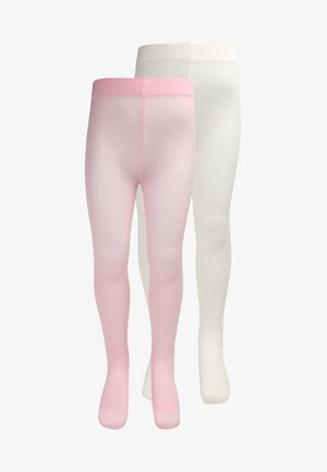 KIDS ZBASIC 2 PACK - Tights - rosa/latte