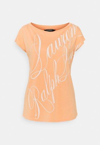 UPTOWN - Print T-shirt - shell coral