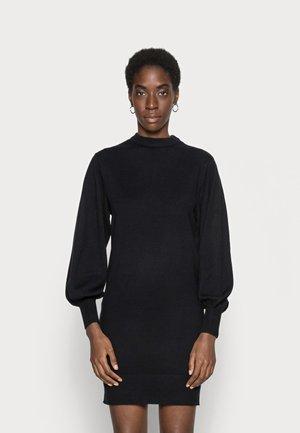 ONLLABELLE LIFE DRESS - Gebreide jurk - black