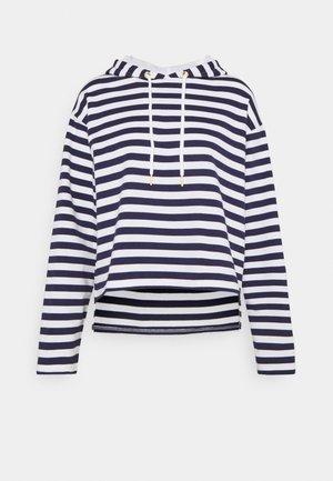Sweatshirt - dark blue/white