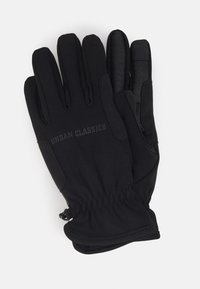 Urban Classics - PERFORMANCE WINTER GLOVES - Gloves - black - 0