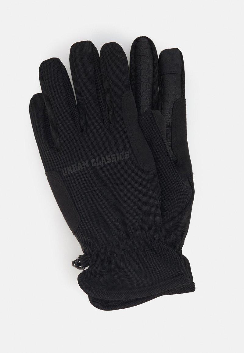 Urban Classics - PERFORMANCE WINTER GLOVES - Gloves - black