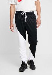 Nike Sportswear - PANT - Træningsbukser - black/white - 0
