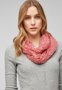 s.Oliver - Snood - light pink floral aop - 2