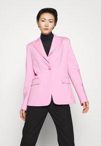 Pinko - SIGMA GIACCA PUNTO STOFFA SCUB - Blazer - fiore di rosa - 0