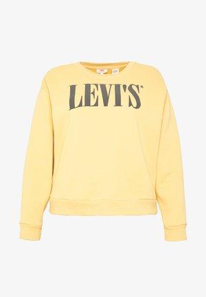 GRAPHIC MADISON CREW - Sweatshirt - ochre