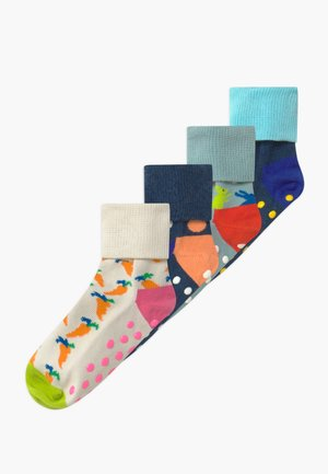 KIDS BIG DOT 4 PACK - Socks - blue