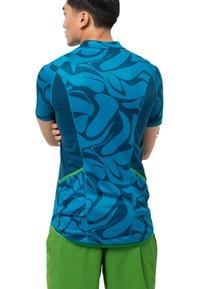 Jack Wolfskin - GRADIENT - T-Shirt print - blue jewel all over - 1