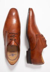 Giorgio 1958 - Smart lace-ups - cognac - 1