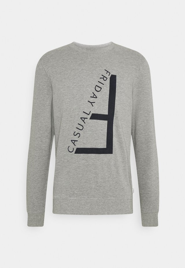 SEBASTIAN - Sweatshirt - light grey melange