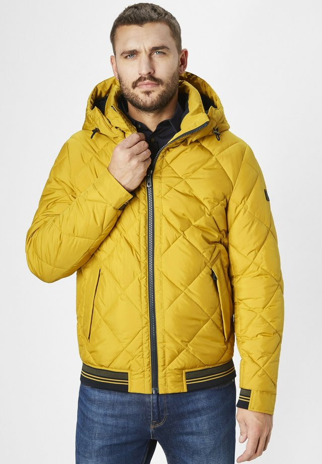 Winter jacket - curcuma