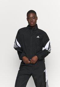 adidas Performance - GAMETI  - Survêtement - black/white - 0
