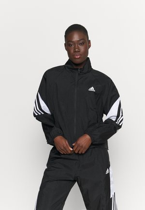 GAMETI  - Tracksuit - black/white