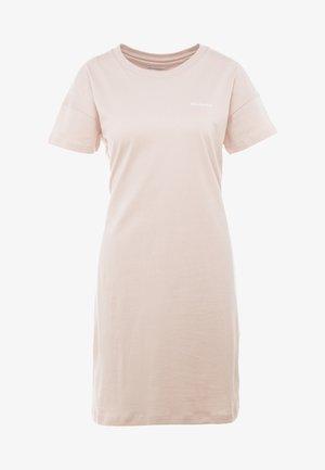 PARK™ PRINTED DRESS - Jerseykjole - peach cloud