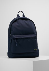Lacoste - BACKPACK - Sac à dos - marine/peacoat - 0