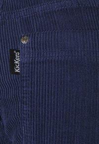 Kickers Classics - SLIM TROUSERS - Trousers - navy - 5