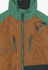 Ziener - ANOAH JUNIOR - Ski jacket - toffee - 2