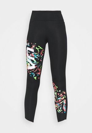 FLY FAST 7/8  - Leggings - black
