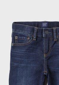 GAP - BOTTOMS SLIM - Jeans Slim Fit - dark blue denim - 4